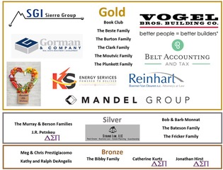 Thank you to all our sponsors for the upcoming DSP Open!