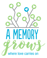 A Memory Grows'    mission is to provide a space of healing and peace for parents who are grieving the death of their child.