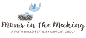 Moms in the Making™    exists to support and encourage women on their journey to becoming a mom by sharing the hope and truth of God's Word. If you are looking for support on your infertility journey, check out this non-profit faith-based fertility support group