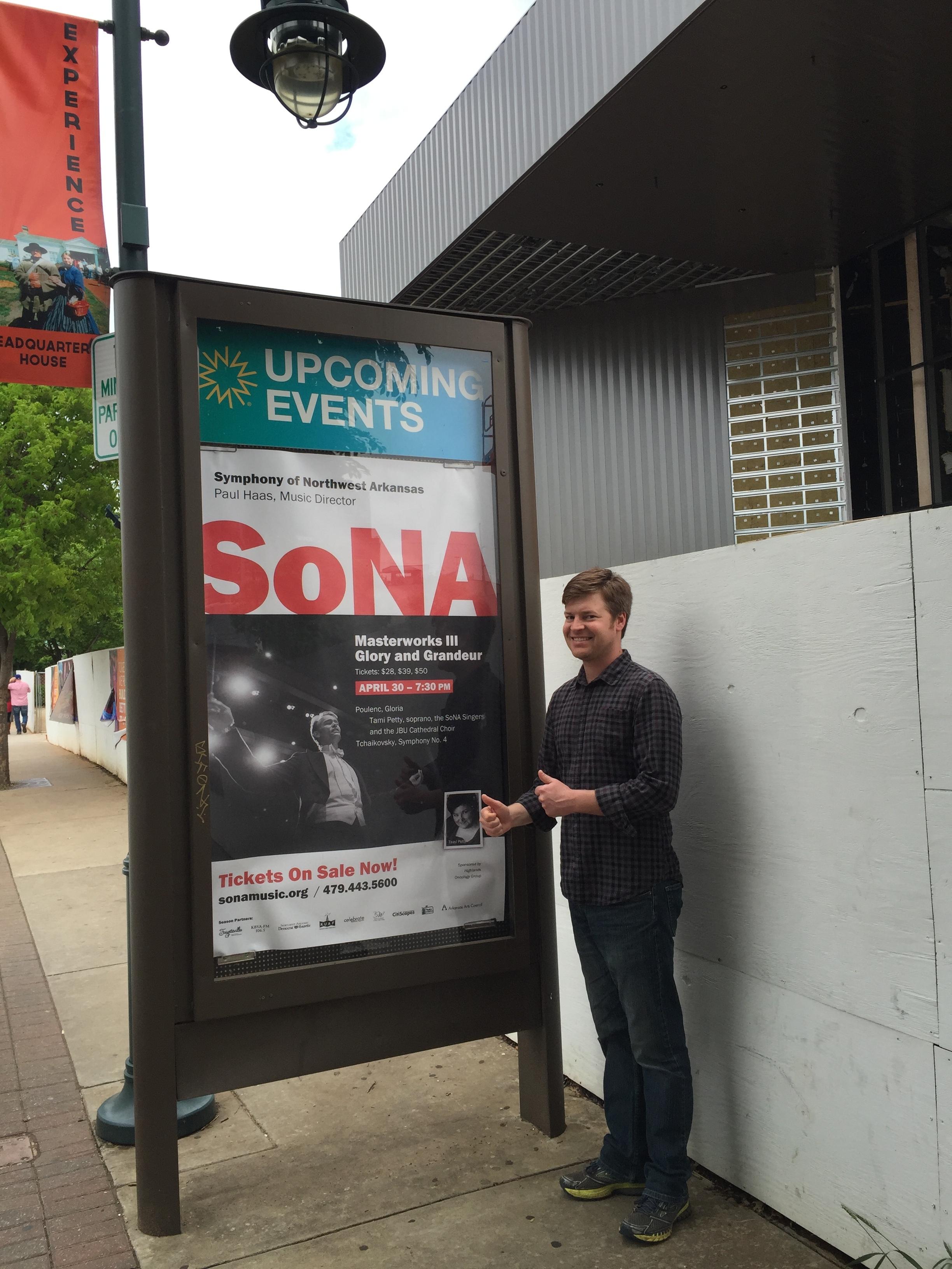 Nice add for SoNA in Fayetteville.