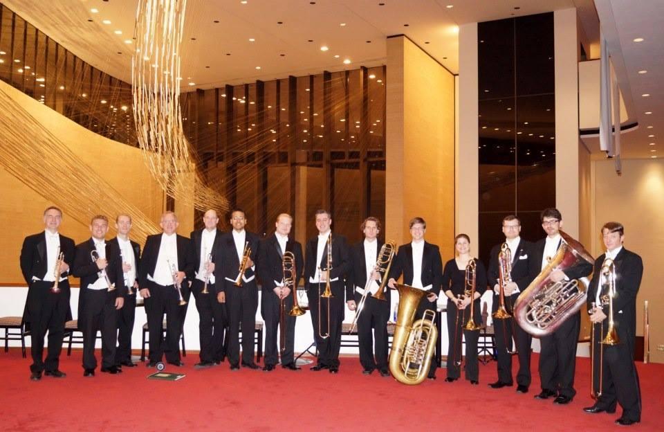 Houston Symphony extra brass for Belshazzar's Feast.