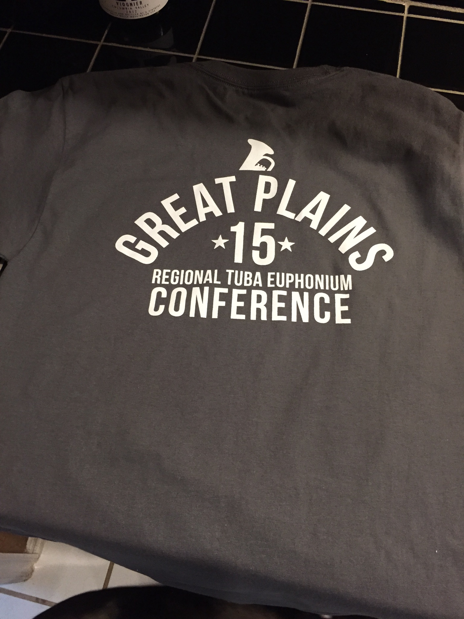 Studio shirts for the conference.