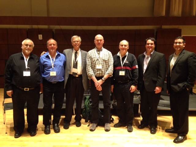 One of our great panels during the 2015 GPRTEC. L to R Philip Black, Carl Kleinsteuber, Don Little, Ted Cox, Gary Brattin, Jeff Baker, Justin Benavidez.