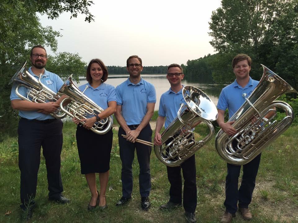 Blue Lake Faculty Tuba Euphonium Quartet with special guest Matt Westgate.