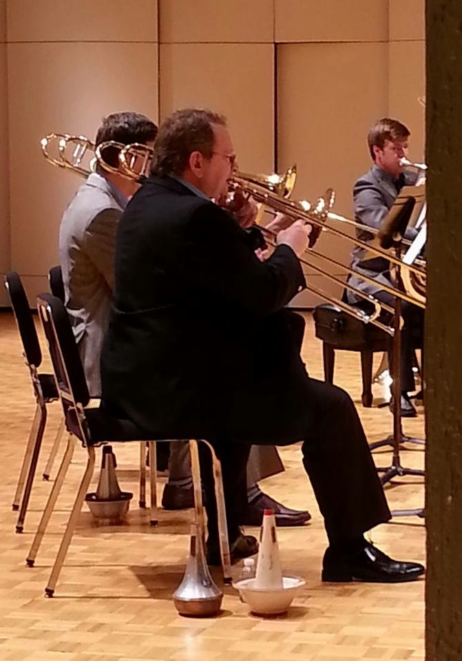Sneaky pic of one of my performances at GPRTEC 2015 with John Allen, Philip Martinson, and Noel Seals.
