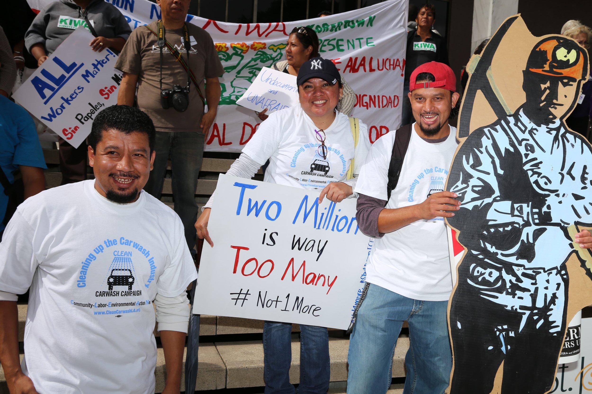 Jose Rolando, Silvia Molina, and Carlos Cuestas
