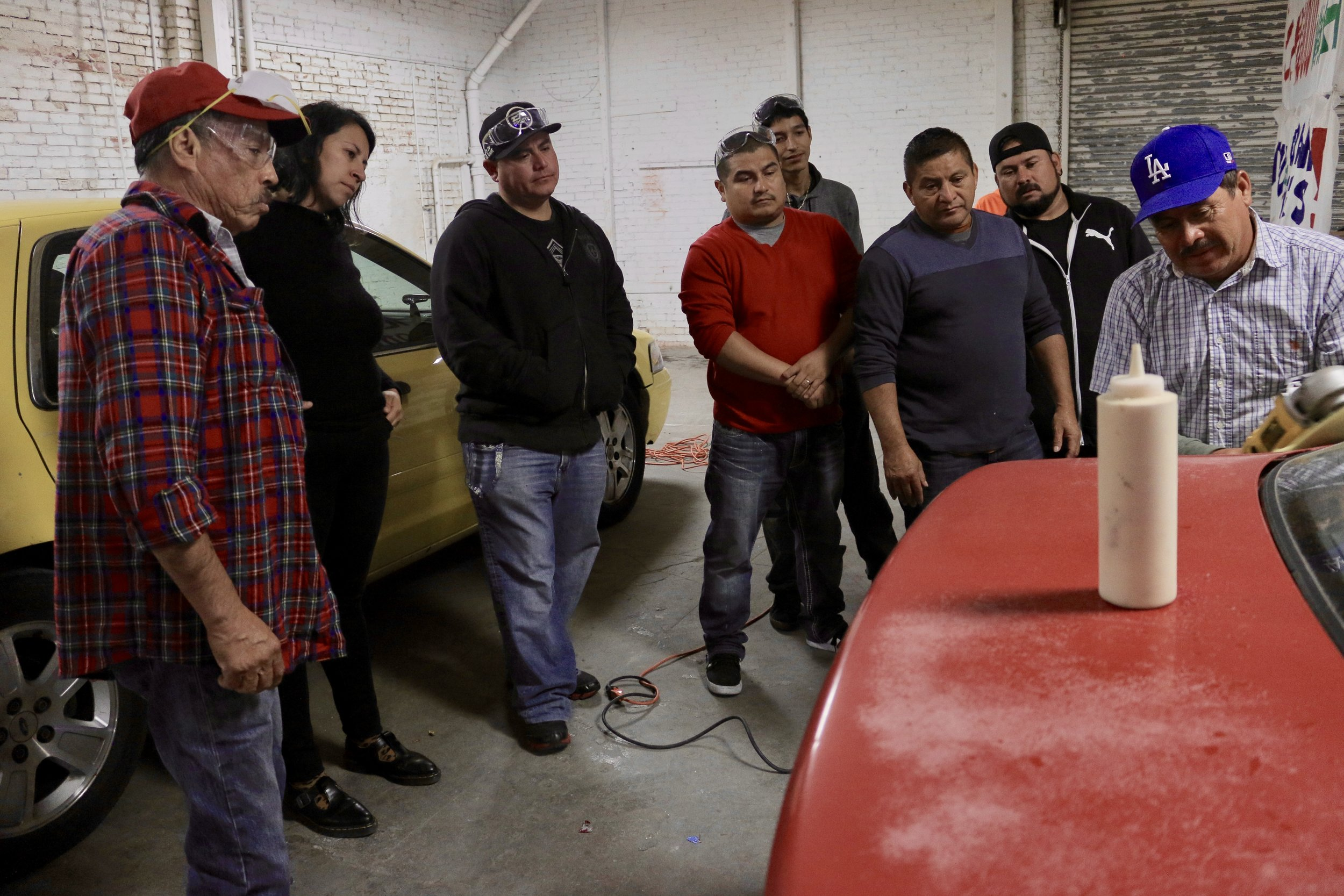 Detail Training Program (Carwasherxs learning the detailing process