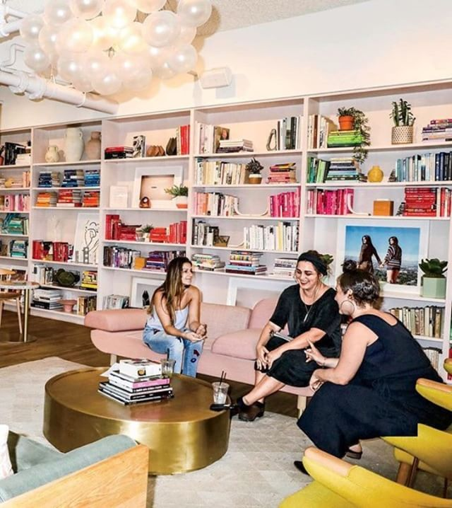 """""""For any #entrepreneur, having a network is vital to professional success. 👩🏻💻 Now there's a new breed of women's network. The Wing, a female-only co-working space co-founded by Audrey Gelman and Lauren Kassan, is set in a sunny, New York City loft where members can work, network, get a professional blowout and attend events and panels. (Think of it as a Soho House but for women only) It's $215 a month to join, and at barely a year old, the Wing already has a waiting list of 8,000 women. ✨😱✨ """"It's the formation of a new girls' club,"""" says Morra Aarons-Mele, a #marketing consultant who helps brands reach women. The company has already raised $8 million in funding from investors including Kleiner Perkins, NEA, and the co-founders of SoulCycle--and plans to scale nationally. 🔥 Talk about #squadgoals (📸: @kristaschlueter for @incmagazine) #girlboss #womeninbiz #bossbabe #femalepreneur #entrepreneurlife #digitalnomad #womeninadtech #dowhatyoulove #thewingwomen #workfromanywhere #officegoals"""