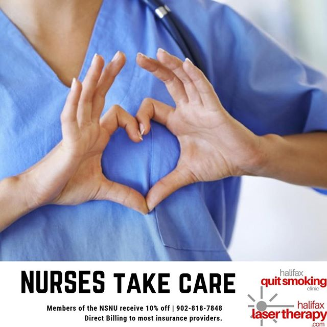 Laser Acupuncture for Nurses⁠ ⁠ Nurses in Nova Scotia have to deal with a lot. We love supporting our nurses by offering 10% off any laser acupuncture service.⁠ Come in for stress management, mental illness, or anything that may be bothering you.⁠ Take care of yourselves too.⁠ ⁠ Schedule your FREE Consultation⁠ 902.818.7848 | www.halifaxlasertherapy.com