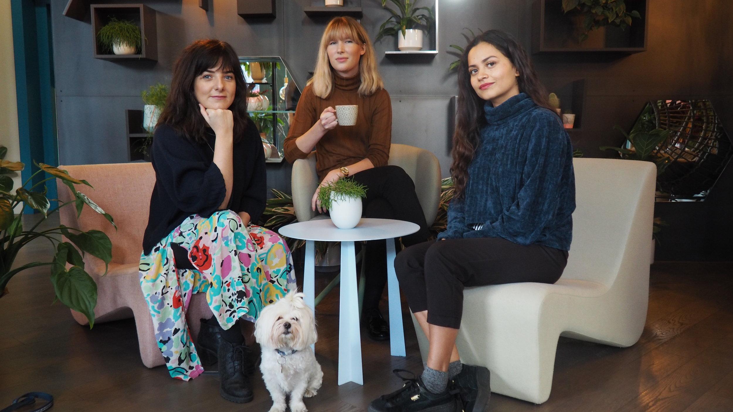 Rosie Davies-Smith and LFA team. a lifestyle and fashion agency