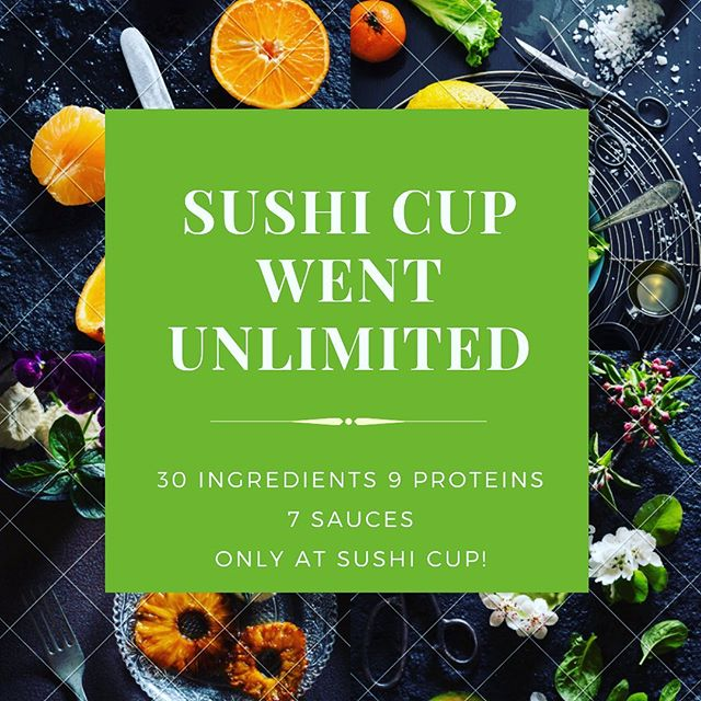 We went unlimited when it comes to our build a PO-KE bowls! Mention this post and get $2 off your ultimate build a bowl! Expires 5/18/2019 #sushi #poke #pokebowl #colorado #denver #denvercolorado #healthyfood #healthyeating