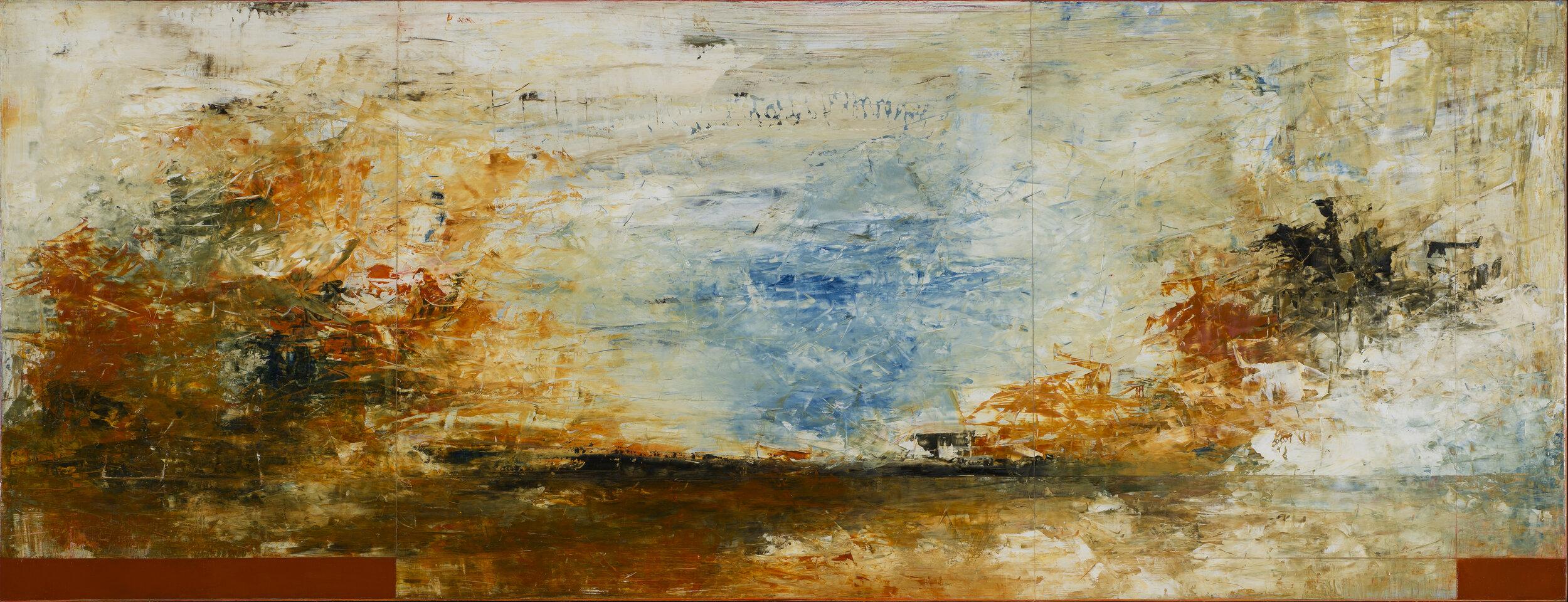 Anse Marechal, No 8 - Oil on Panel, 28 x 72.jpg