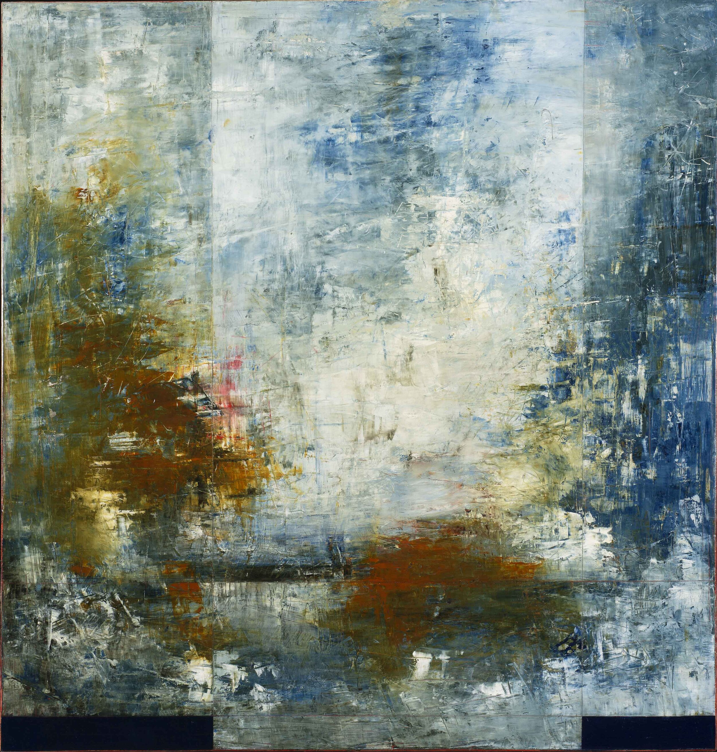 Los Arcos, No. 3, oil on panel, 42x40.jpg