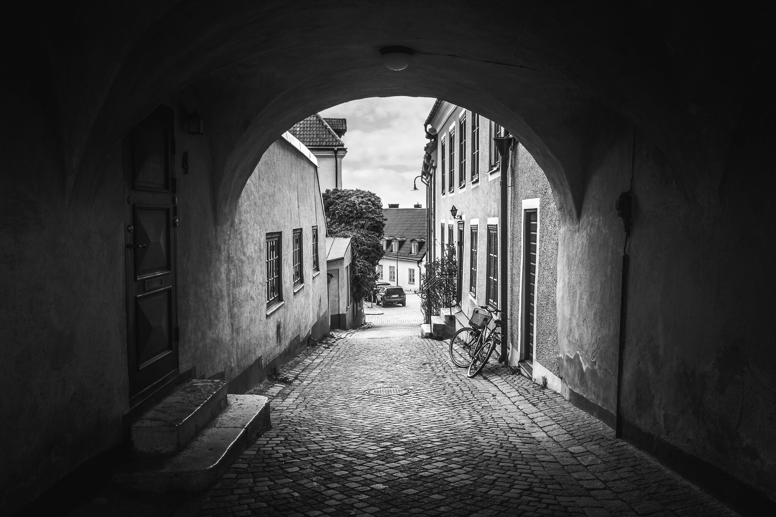 A beautiful little alley