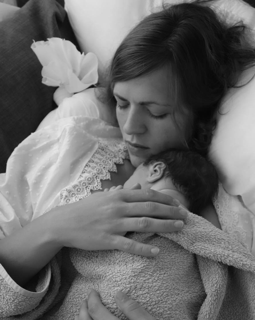 AN EMPOWERED HOME BIRTH STORY - JO & TOM