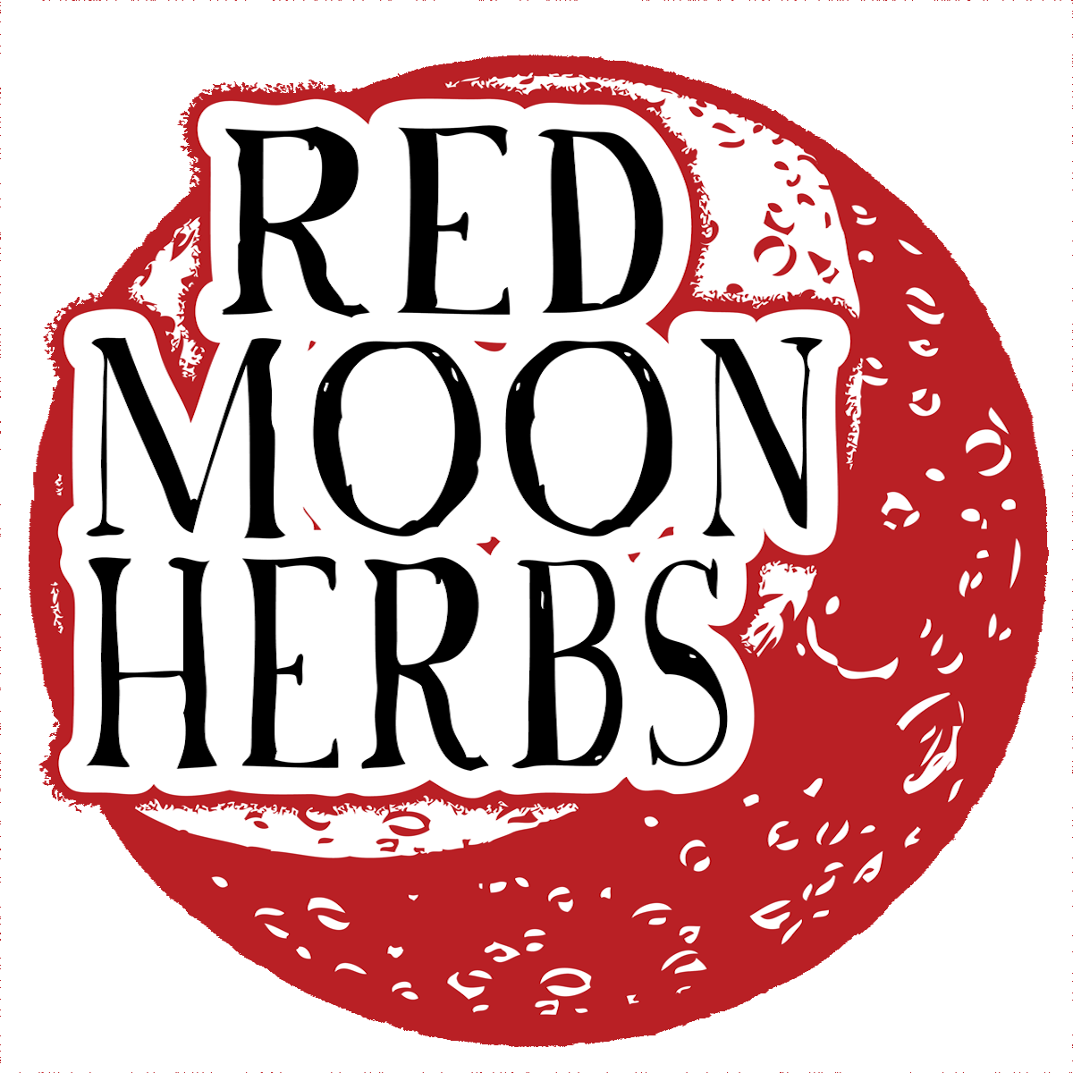 - Red Moon Herbs offers fresh organic extracts, dried herbs, salves, oils, vinegars, syrups, and herbal educational materials made in the Wise Woman Tradition.