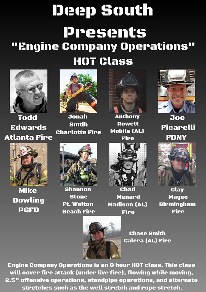Engine Company Operations Instructors