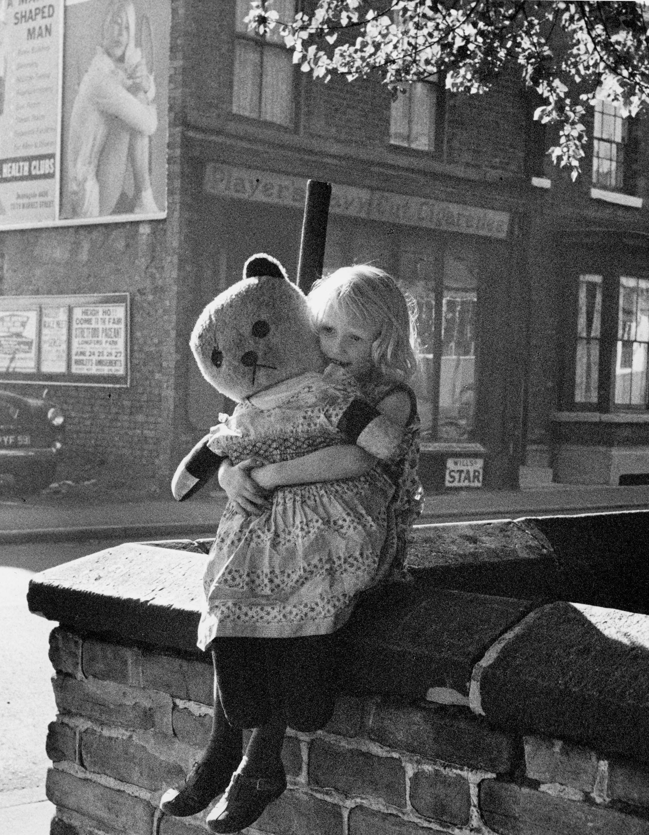 Girl & Teddy, Moss Side (1964)