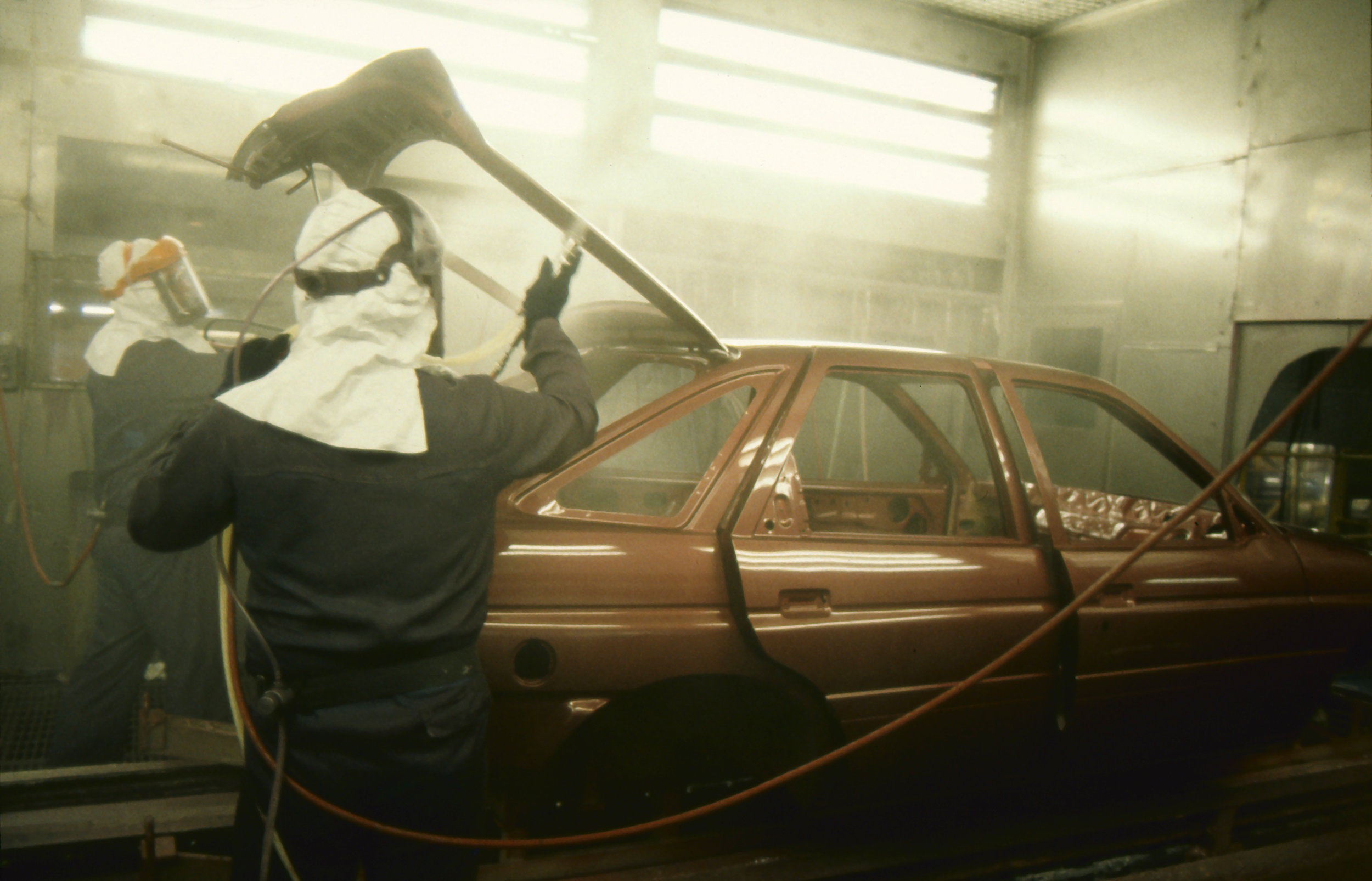 Car Spraying