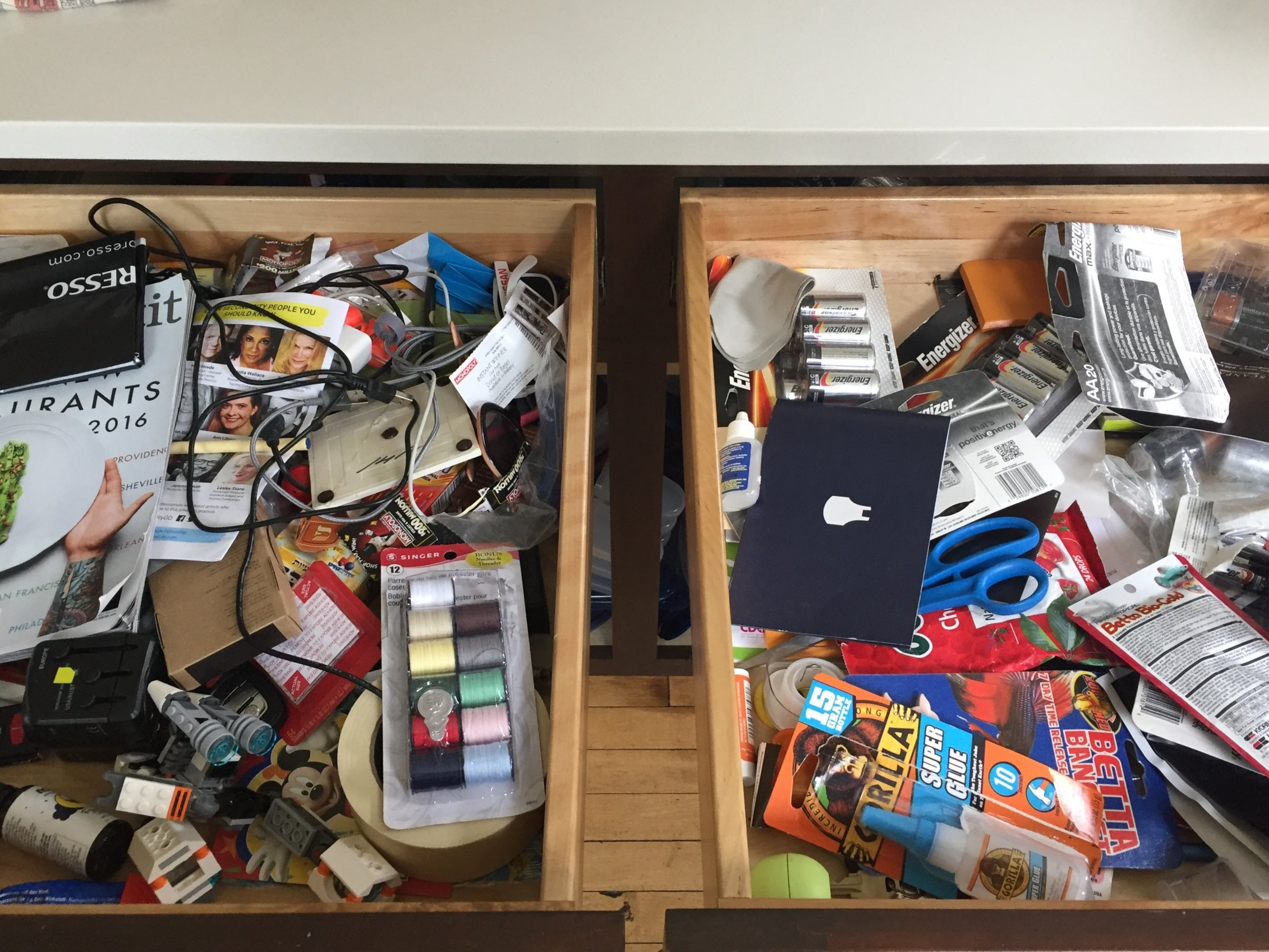 Everyone has a junk drawer, right?