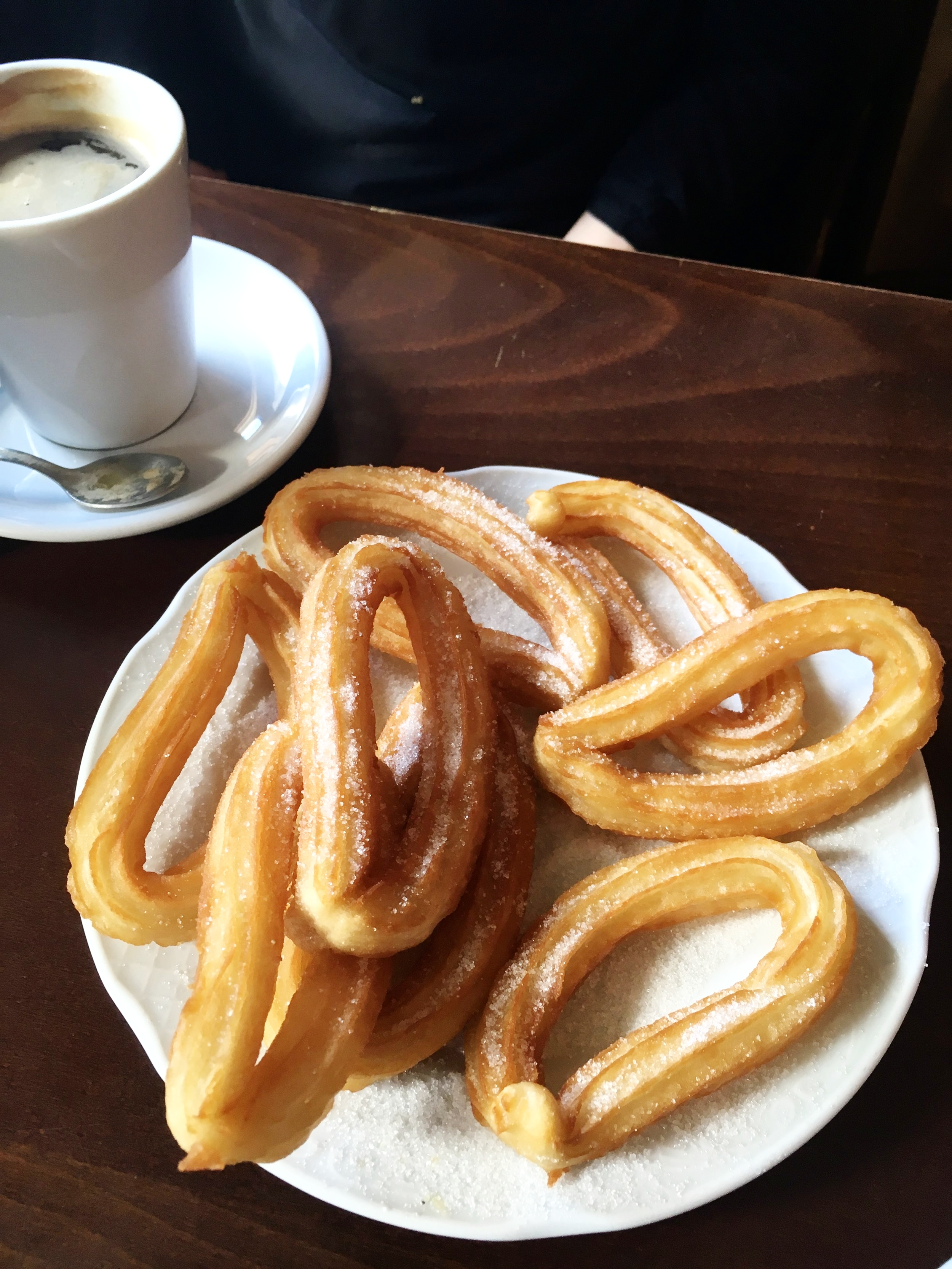 SERIOUS EATS: Churros con Chocolate: The Breakfast That Binds a Nation