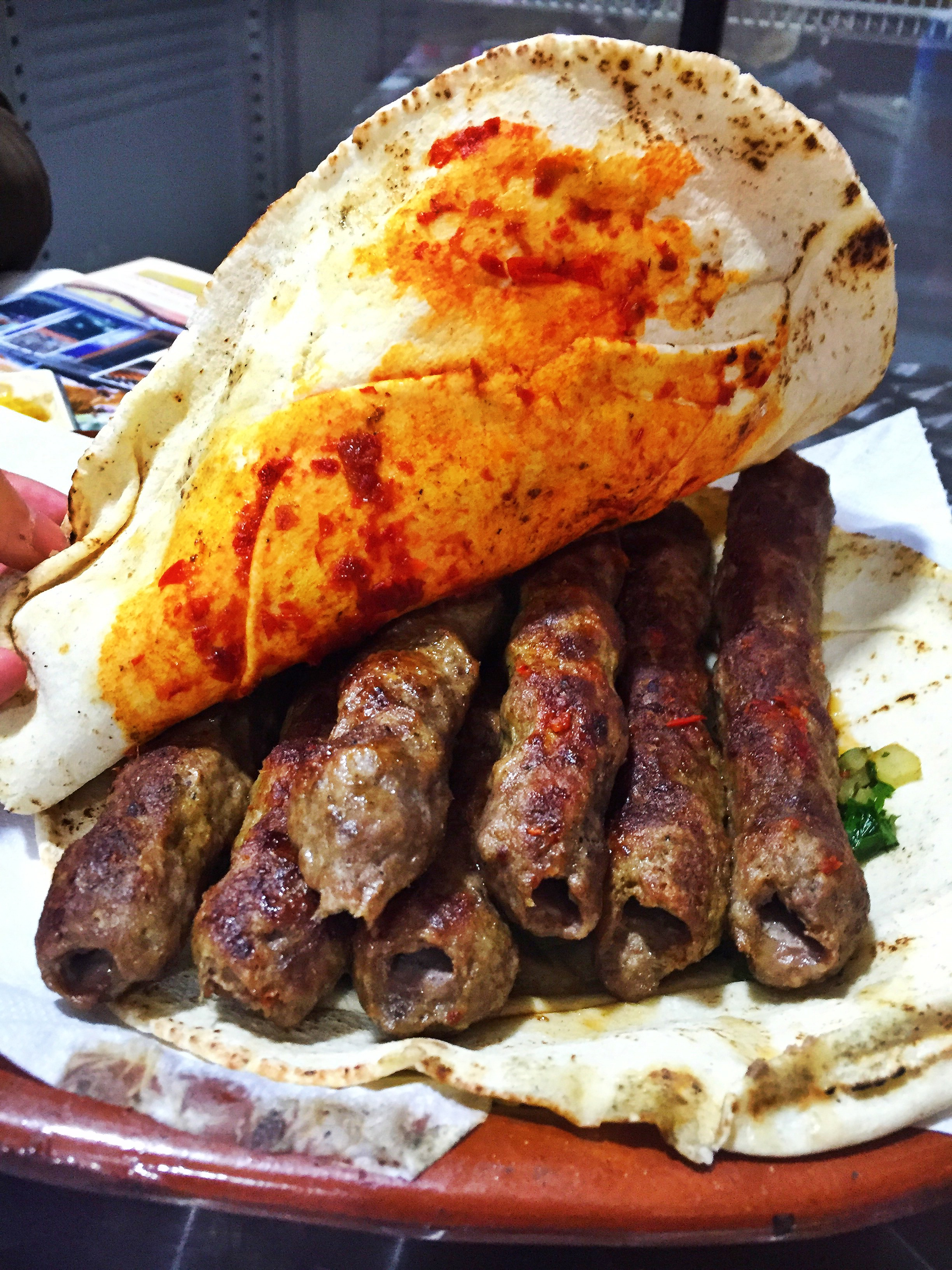 SAVEUR: Lunch with the Syrian Refugee Grilling Madrid's Greatest Kebabs