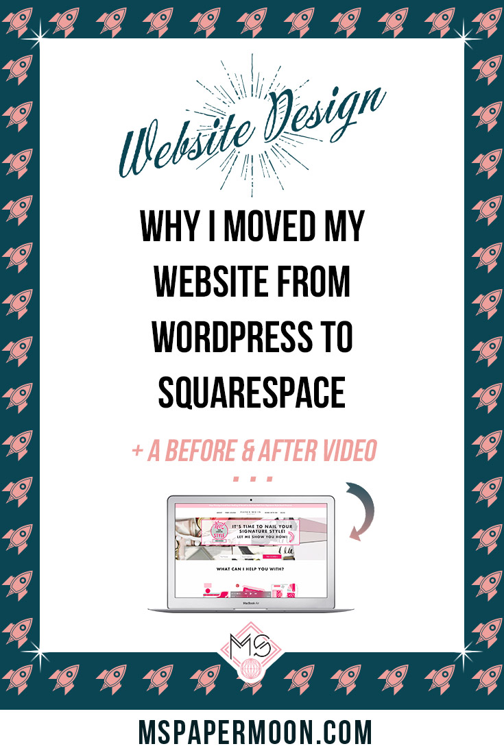 Have you been contemplating Wordpress versus Squarespace?Last year I took the leap and decided that the best choice for my online interior design business was to move my Wordpress website to Squarespace. I used to be a hard core Wordpress advocate, but after a bit of research, a lot of plugin overwhelm, and several dollars spent on trying to find a Wordpress theme that gave me everything I wanted, I realized that Squarespace was really the solution. So if you're thinking about making the move to Squarespace or are just in the early stages of designing your website, check out my website before and after video and the five reasons I moved my Wordpress Website to Squarespace.