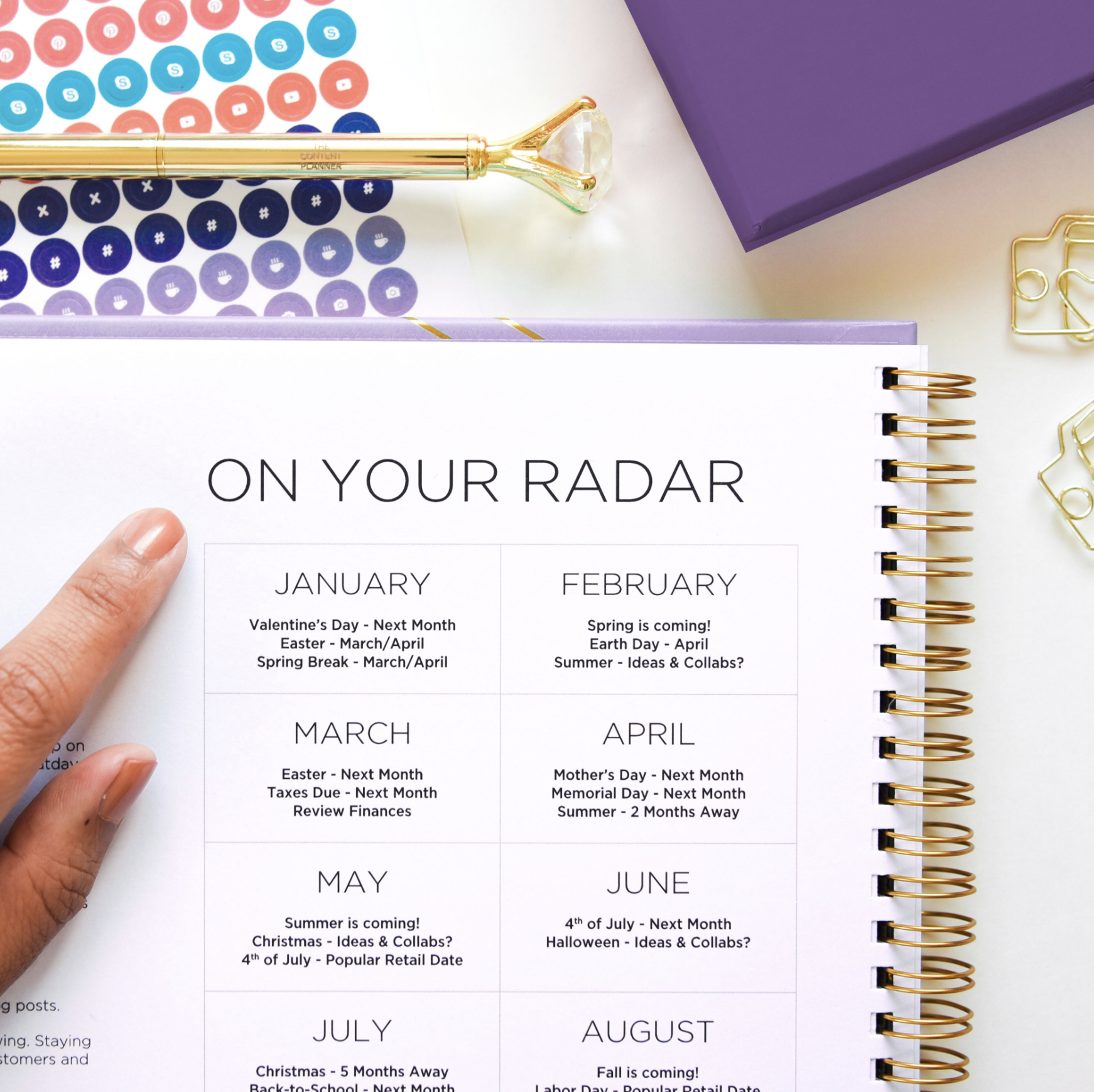 The Content Planner by Kat Gaskin | Content Marketing Tools and Planning for Small Businesses