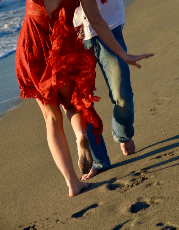 Earthing Has Incredible Benefits! Go Barefoot Ya'll! - Photo By: Anomilee