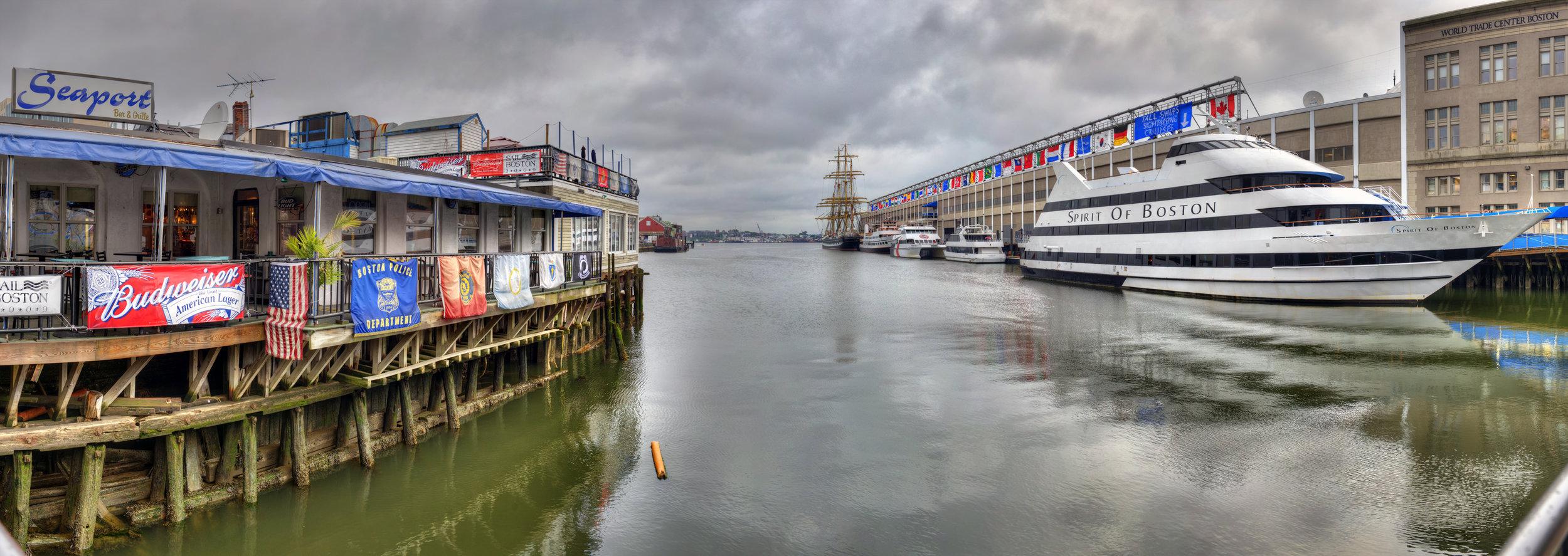Seaport Grille Boston Harbor