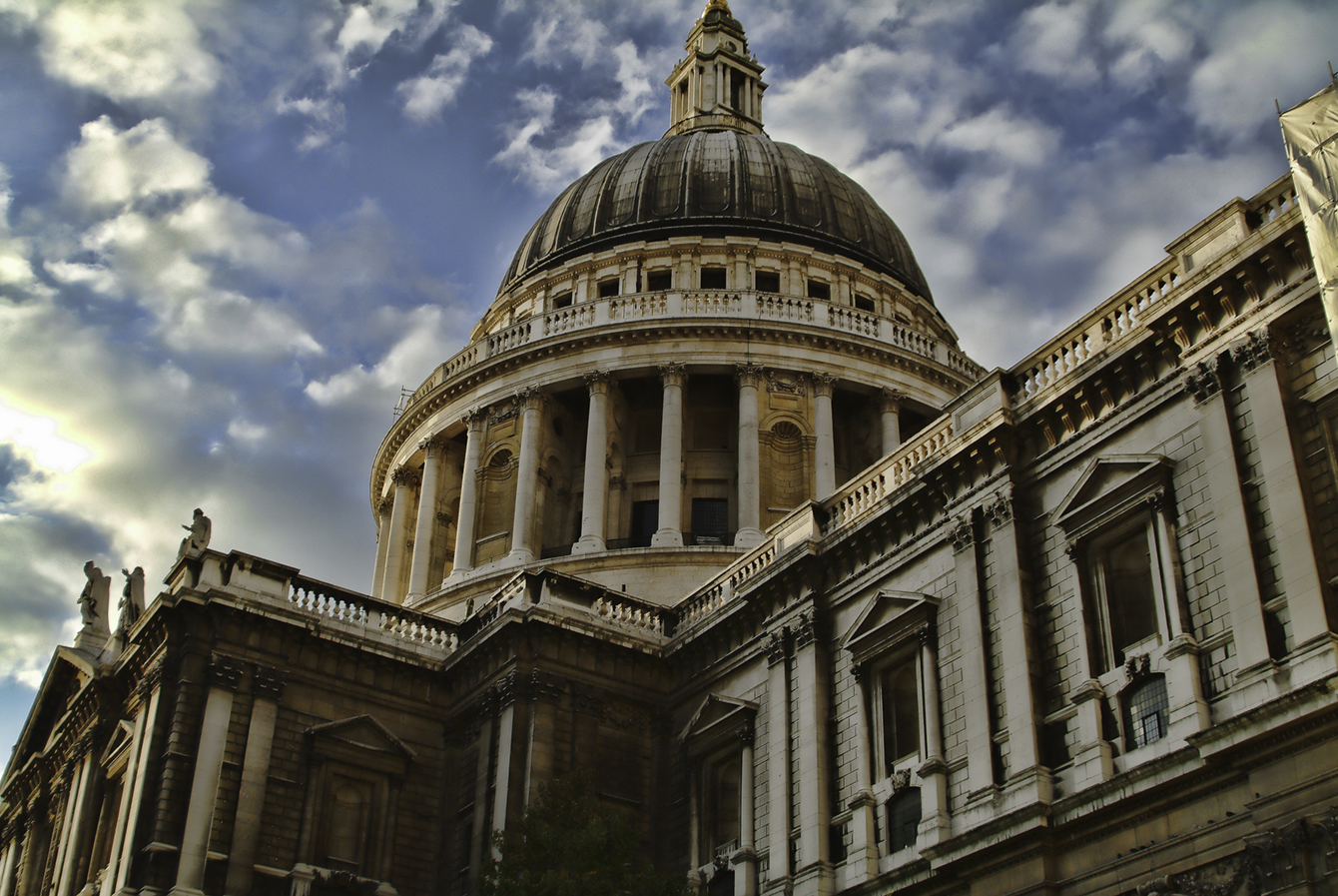 It's a bucket list item. St Paul's Cathedral. The whispering gallery is here.