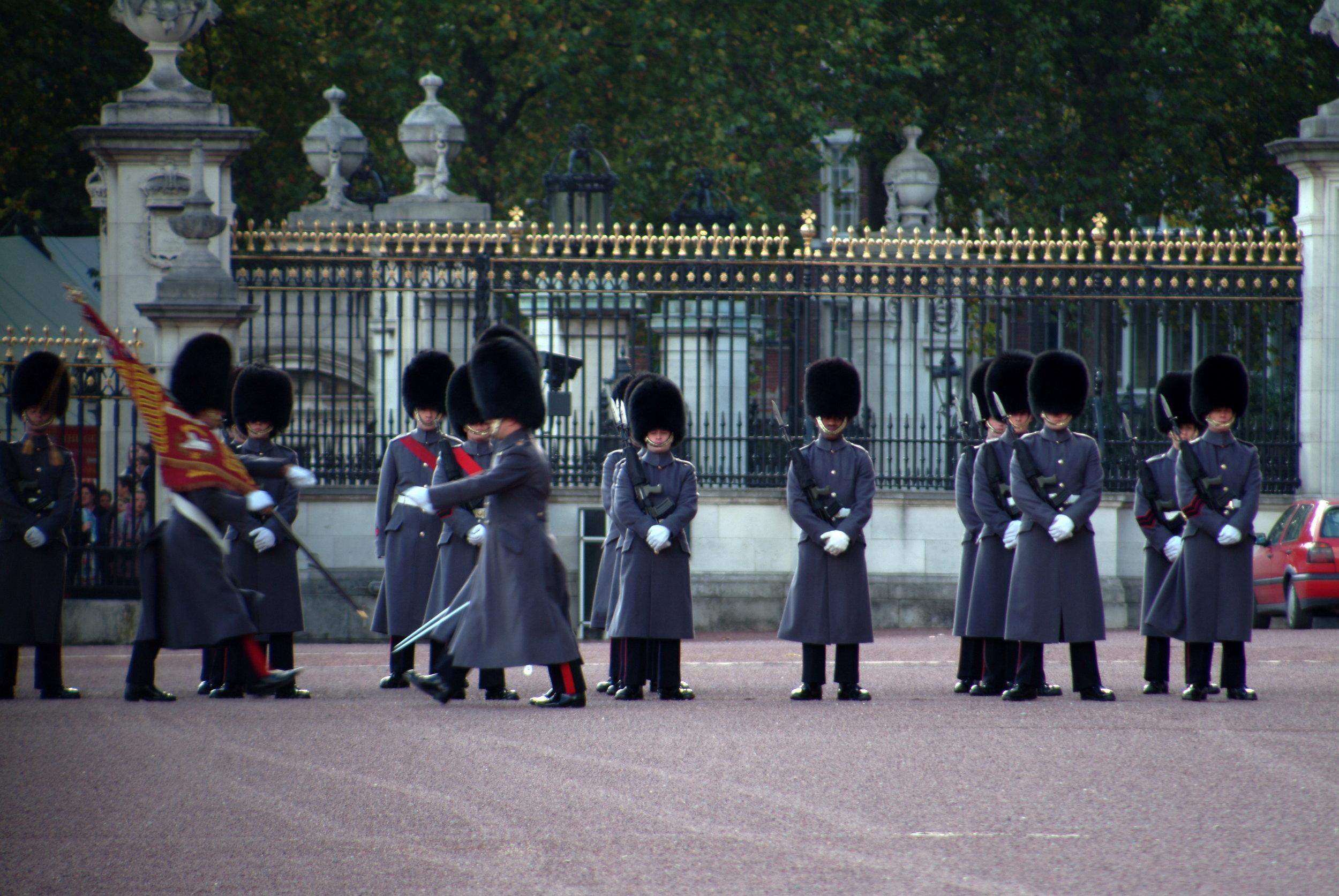 Buckingham Palace Changing the Guard