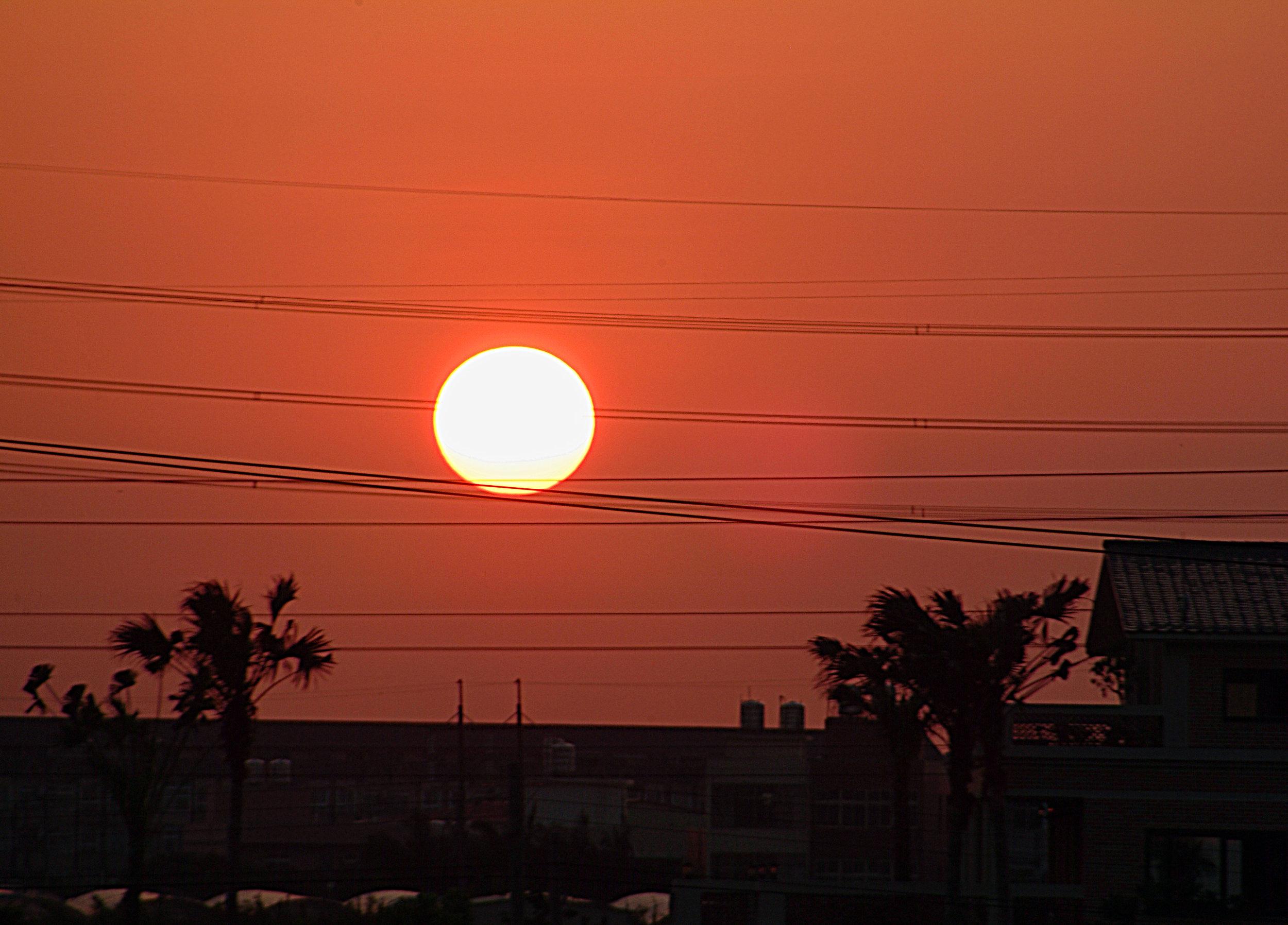 Taiwan Sunset.