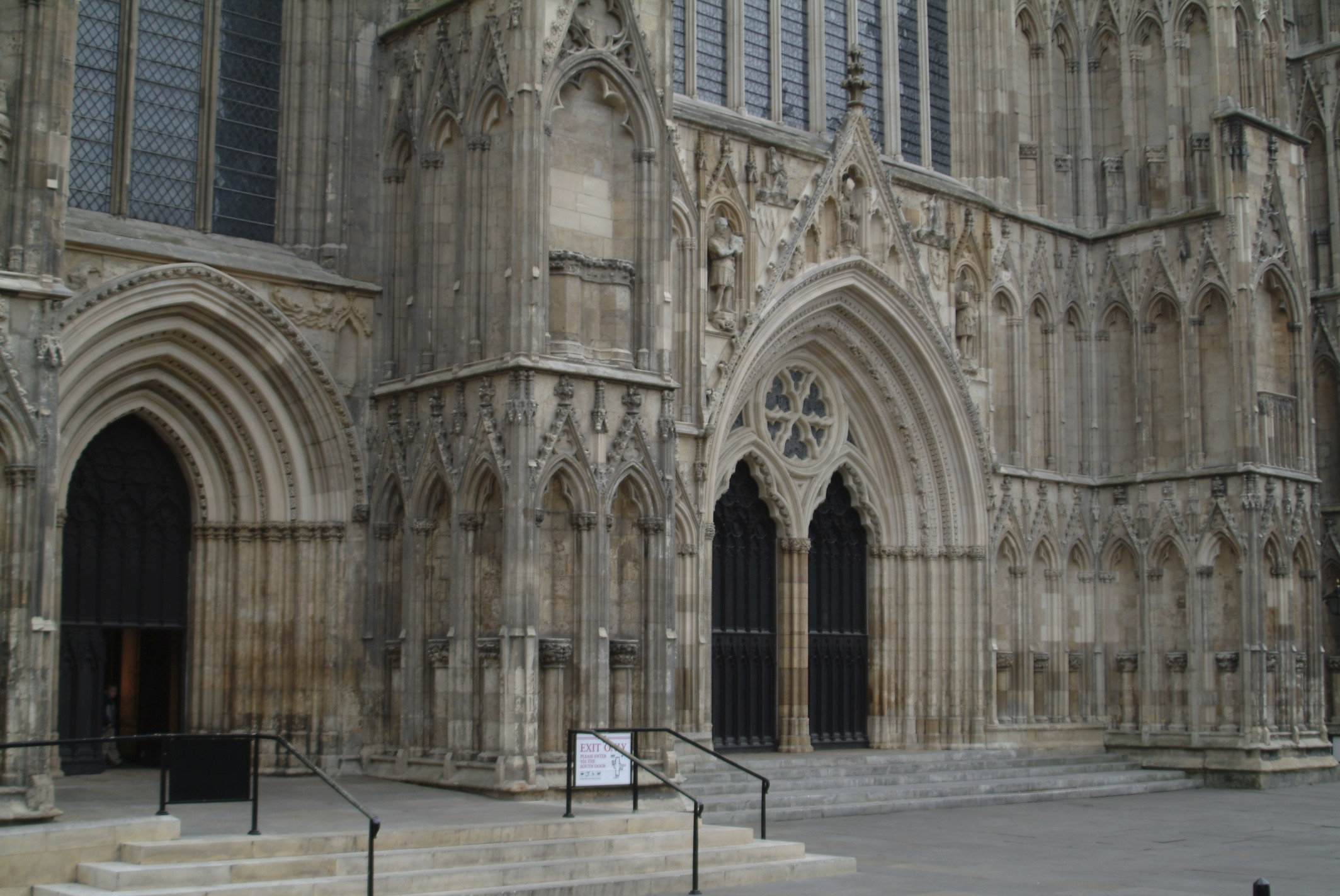 Entrance to the Minster