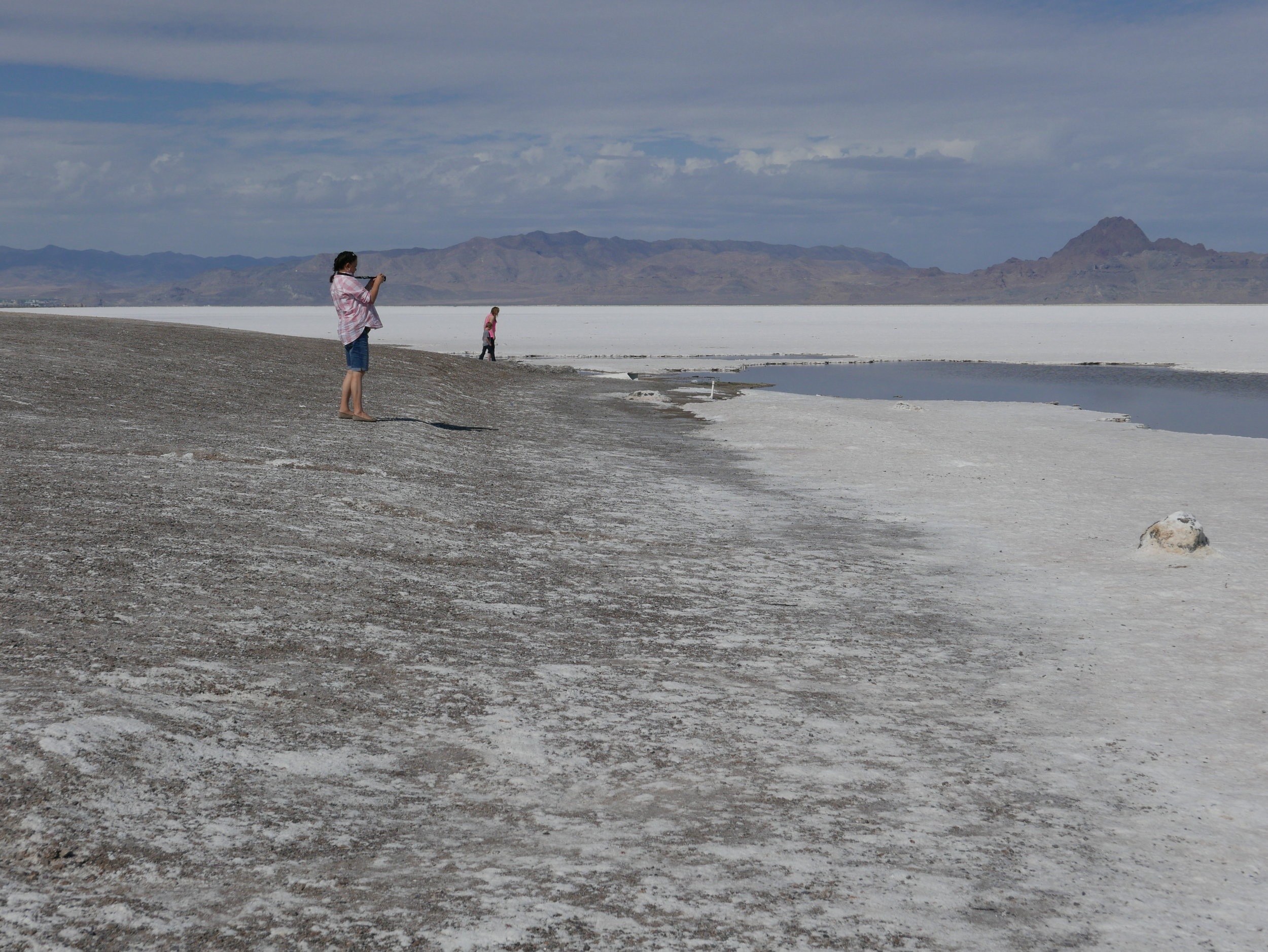 The Salt Flats. At last I get to see this! Click  here  for more pics.