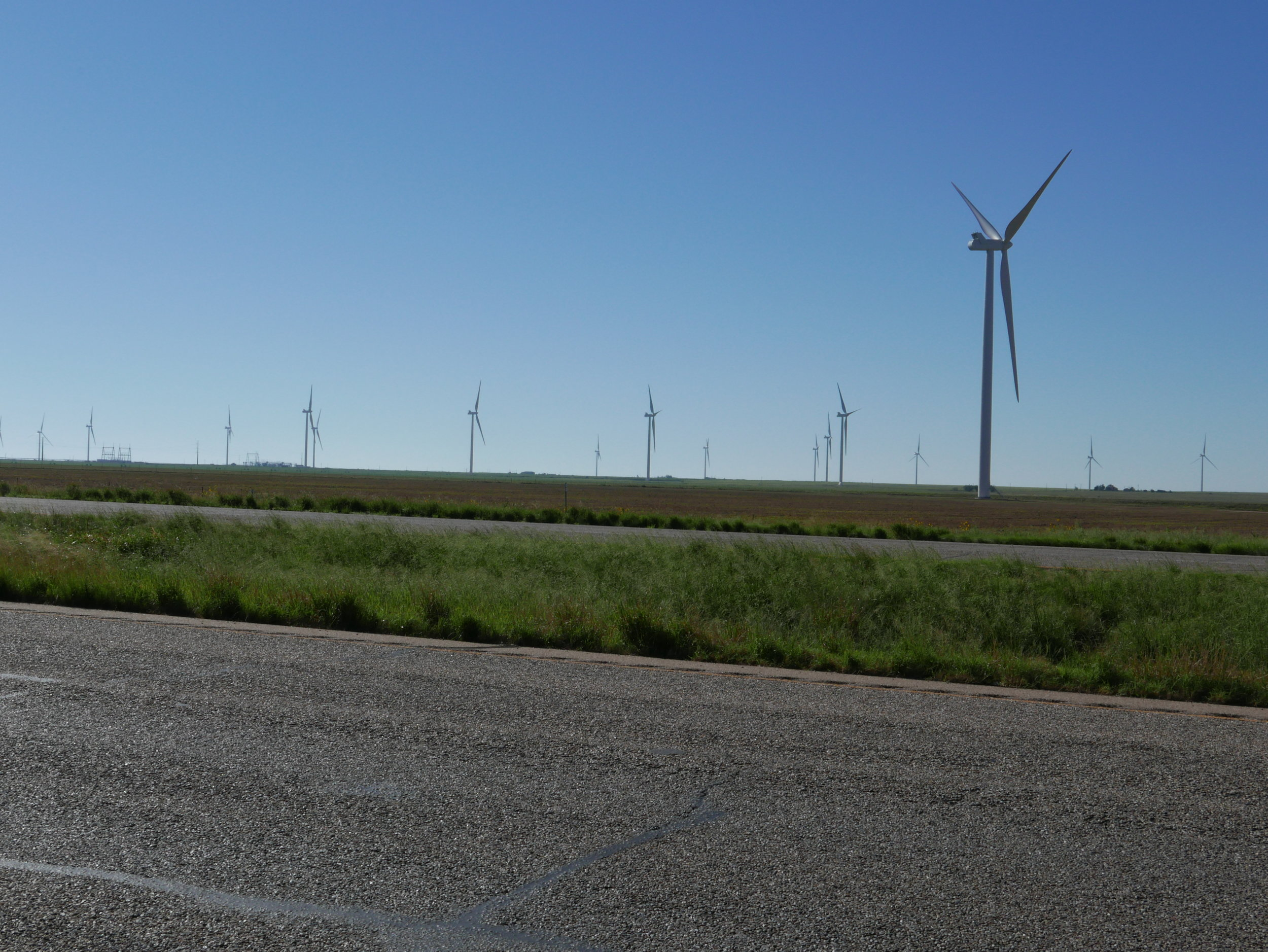 Wind Farms everywhere