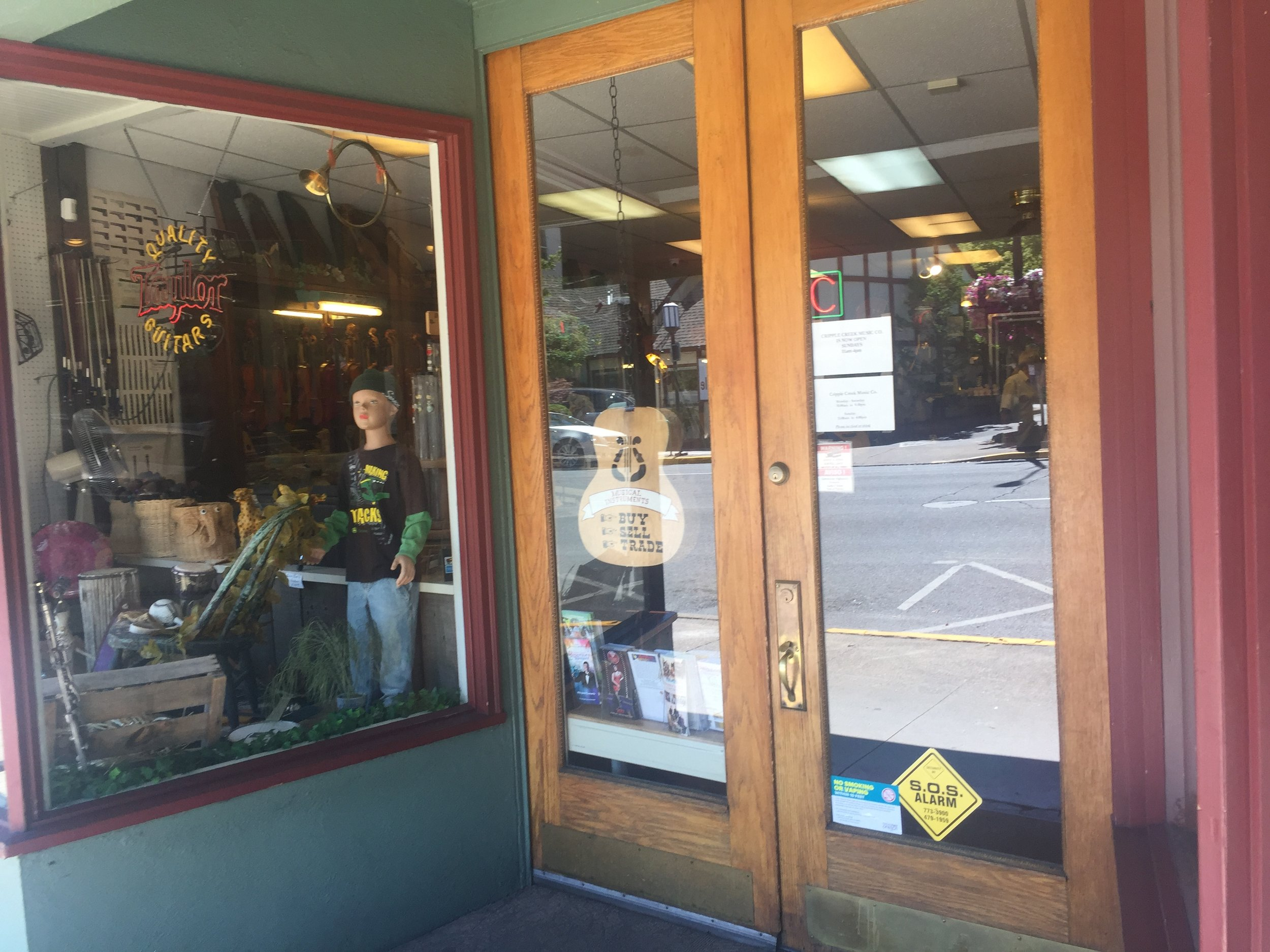 Cripple Creek Music Store