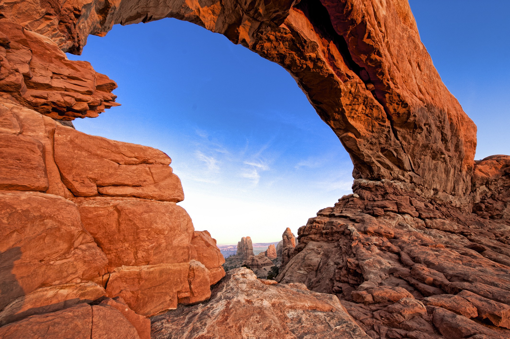 Images shot on location Arches National Park