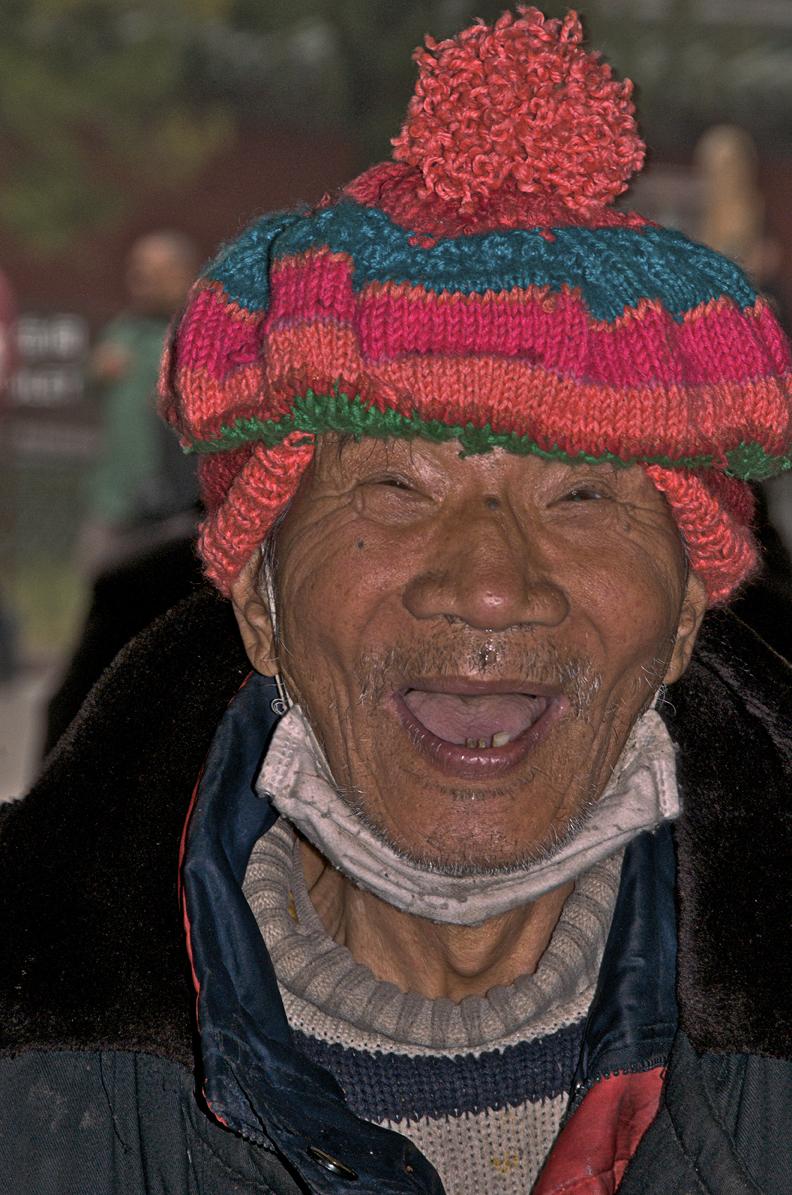 Crazy Guy in Beijing.