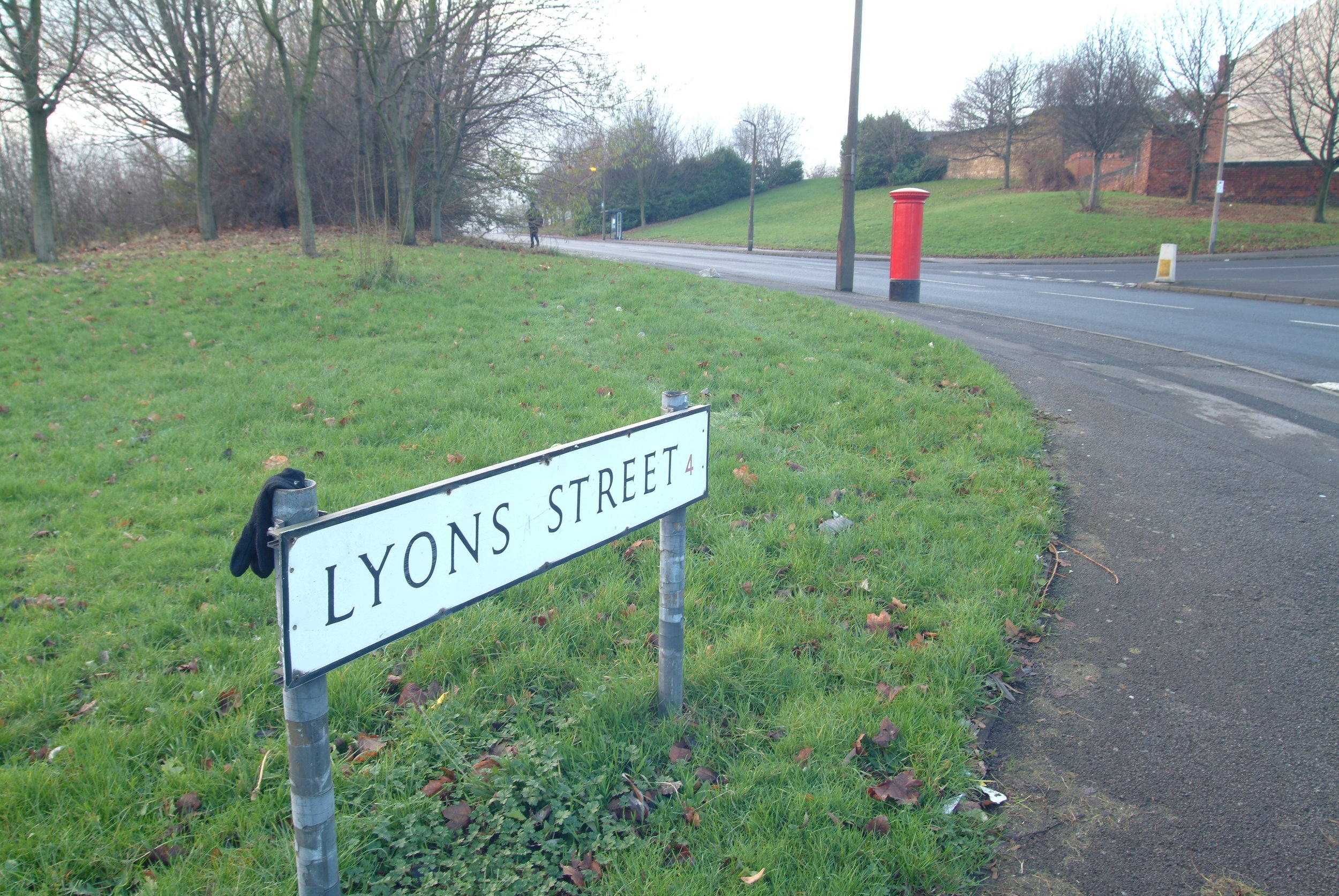 My home town. Sadly, or maybe for the better, the old district of Pitsmoor no longer exists as I knew it growing up. The above photo is the street I grew up on. The street sign is new-- the post box is the original one.