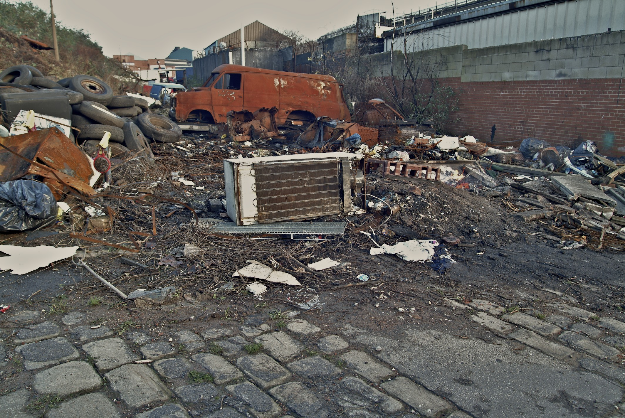 These pics show just what it was like in Pitsmoor when I was a kid. Today you don't see this any more the place has become a very much cleaner city. This area is literally a street away from where I was born.
