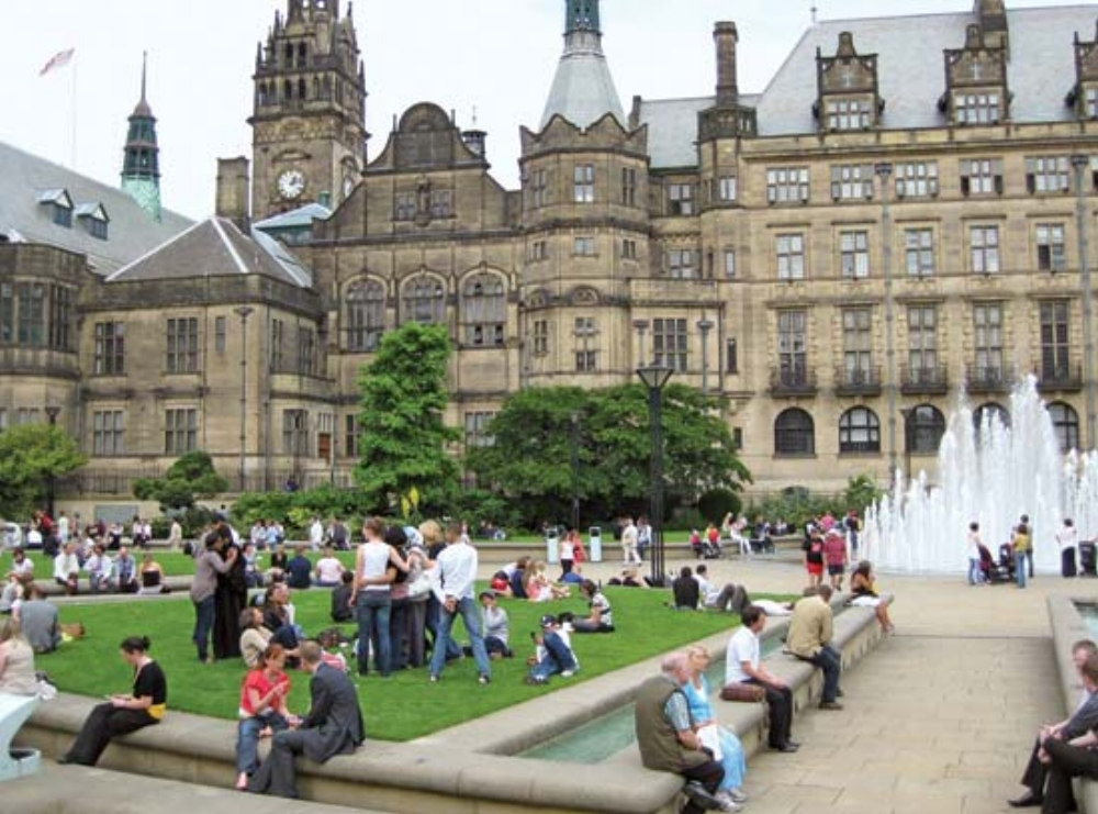 Summer in the Peace Gardens