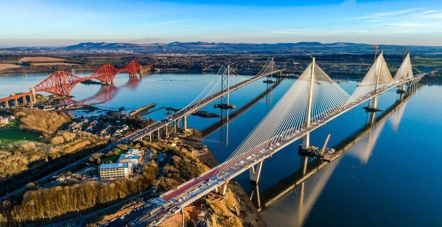 Forth Bridges- Scotland— (photo from internet)