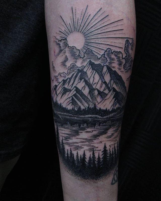 Line and dot work technique for this sweet little forearm piece . . . #ink #inkedgirls #tattoolife #tattooed #inked #inkwell #tattoist #inkedlife #tattoos #inklife #tattooedgirls #inkstagram #coralspringstattoo #instatattoo #sleevetattoo #instaart #tattooart #blackandgreytattoo #tattoo #inktober #tattooartist #instatag #tatts #inkedup #instagramanet #inkedgirl #inkaddict #bishopbrigade