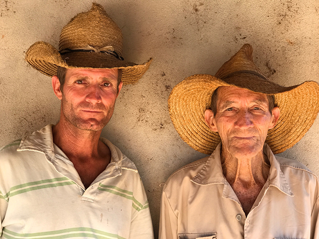 Farmers, Trinidad Cuba