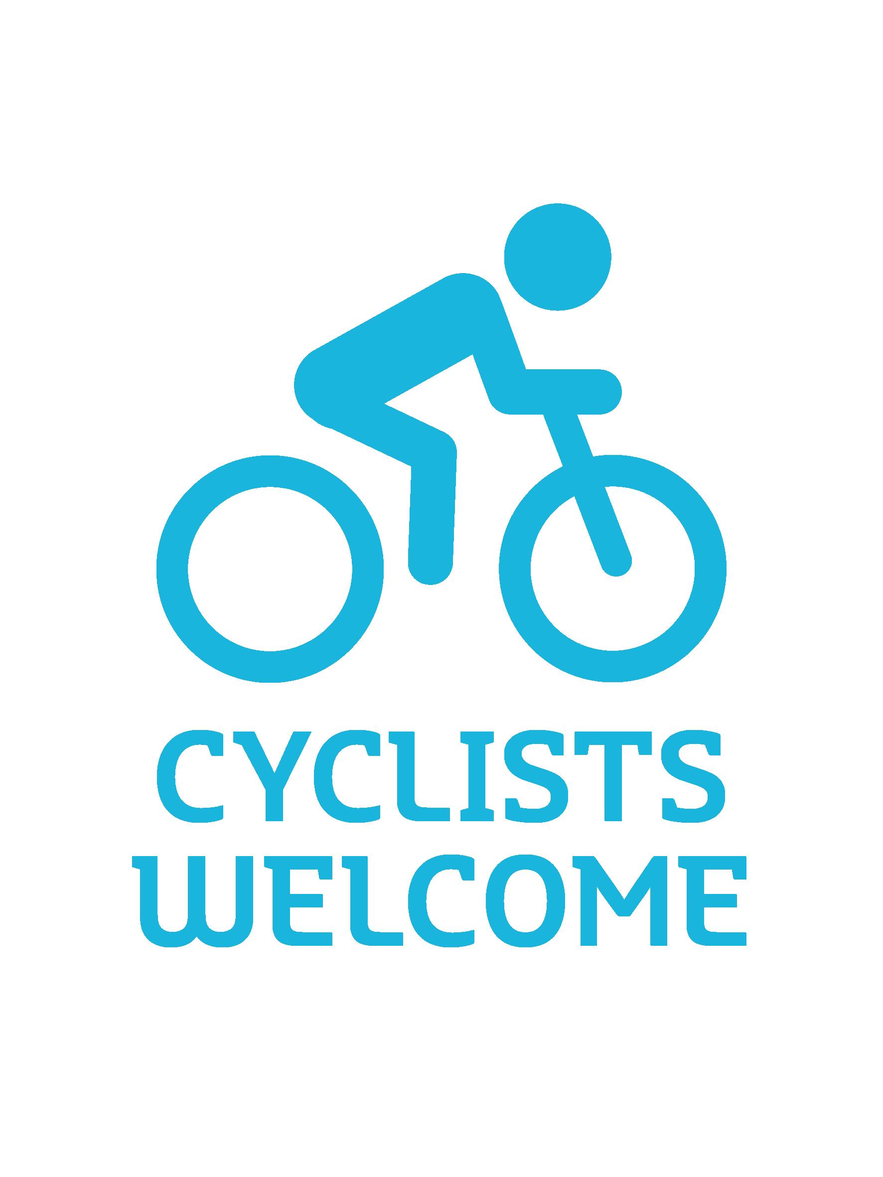 Cyclists welcome.jpg