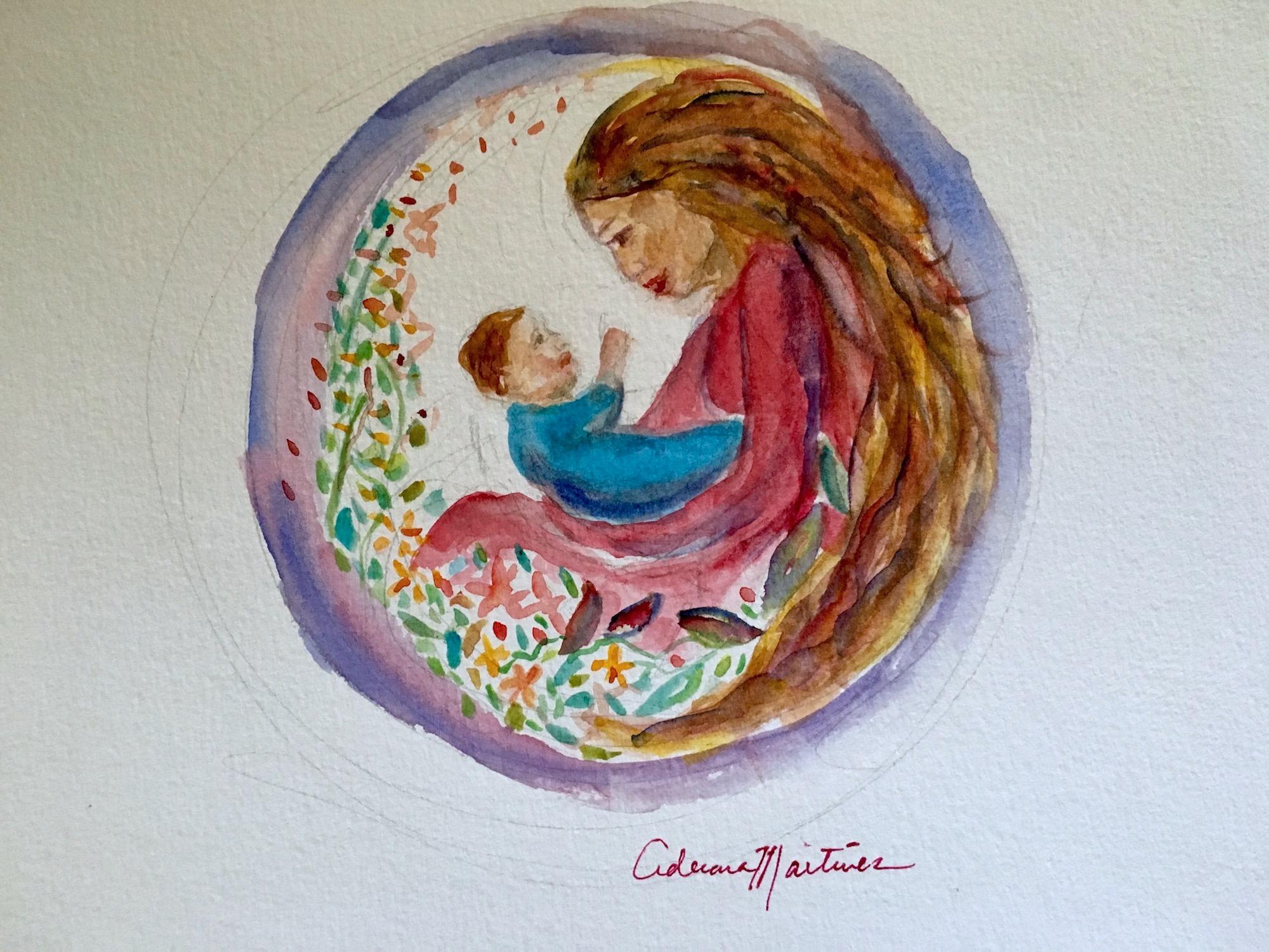 LoveCircle:www.adrianamartinezartist.com.jpg