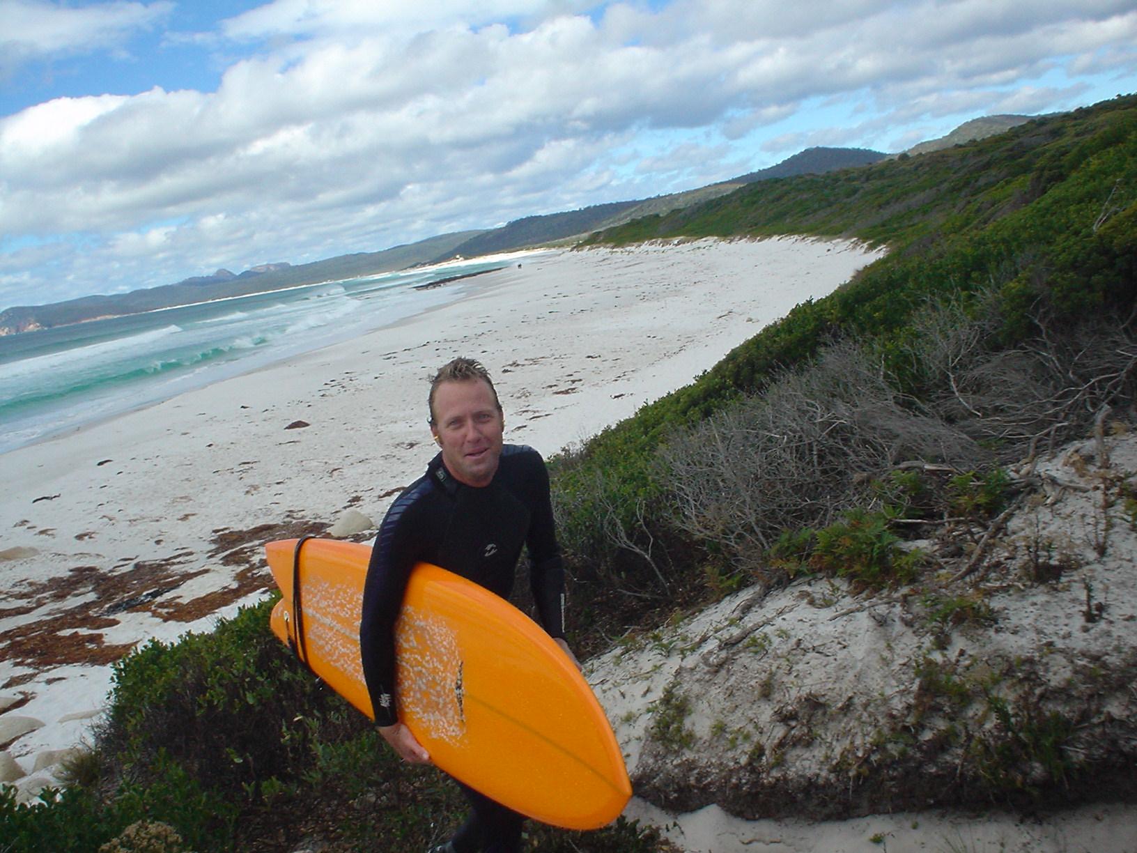 Lars in Tasmania