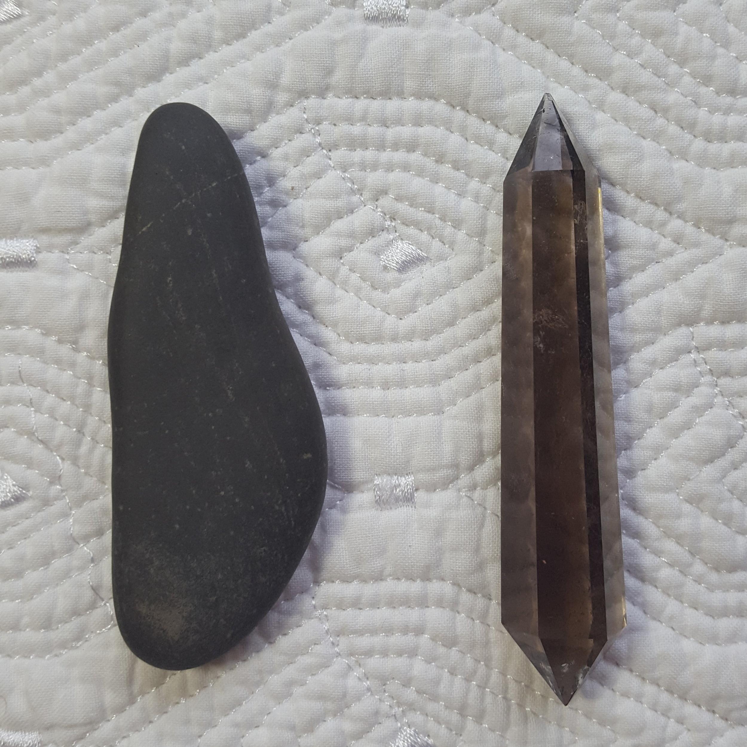 Precision Healing Tools, Alaskan Khuya and Smoky Quartz