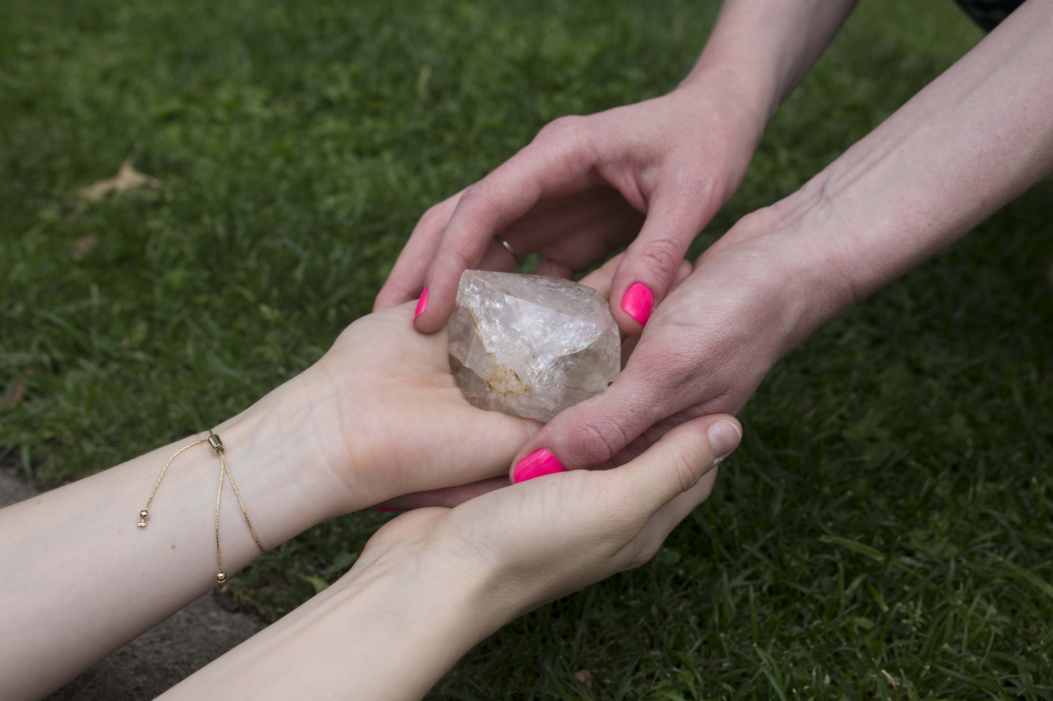 Using Crystal to Shift Energy